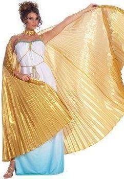 крылья золотые